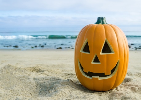 Happy Halloween, Coastal Style